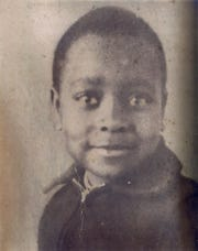 Roosevelt Johnson Photo of Roosevelt Johnson who was one of 3 teens who drowned at Pleasant Ridge State Negro Park July, 29, 1954.