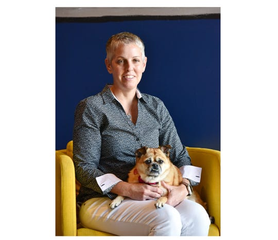 Jen Hanna is the owner of Noble Dog Hotel and founder of Canine Healing Project.