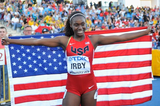 , Pike's Lynna Irby races to No. 3 time in world for 200 meters