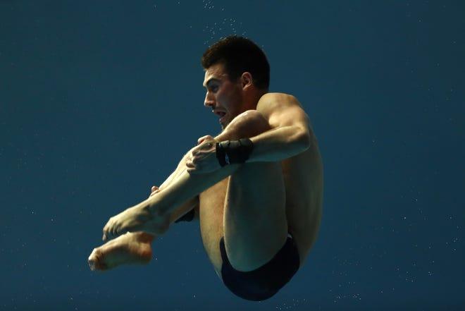 Brandon Loschiavo, diving  Event: Platform. Indiana link: Purdue. Age: 24.