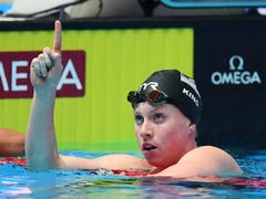 Lilly King repeats as world champ, once again shows 'the will to win'