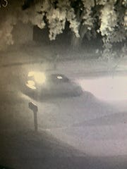Iowa City Police released this image of a car suspected of being involved in reported vandalism on July 23, 2019.