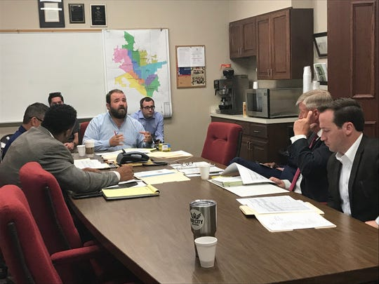 The new Jackson budget committee met  for the first time under Mayor Scott Conger on July 23 at the Jackson City Hall.