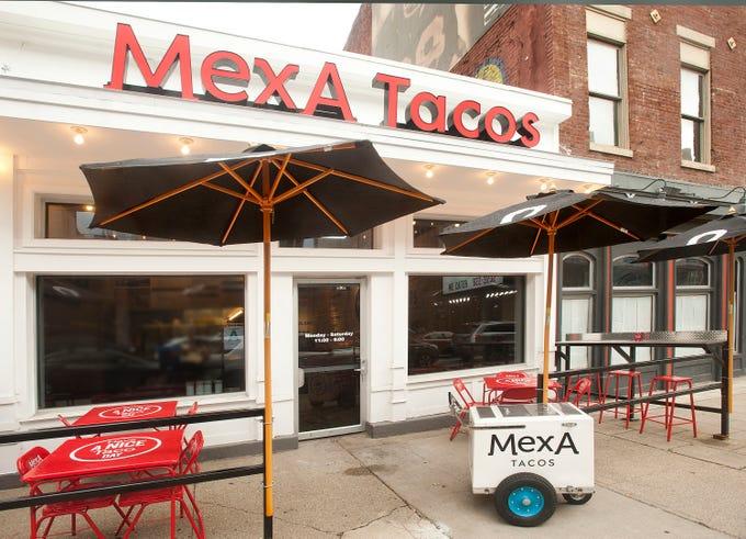 MexA Tacos, at 305 W. Market Street.22 July 2019