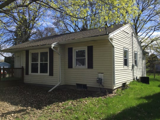 A small, one-story home on Tulip Street in Grand Ledge is one of 27 properties being auctioned off in Eaton County this fall.
