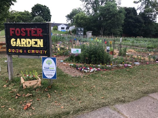 Foster Garden, located at 519 S Foster Ave. in Lansing, appears in a 2019 file photo.