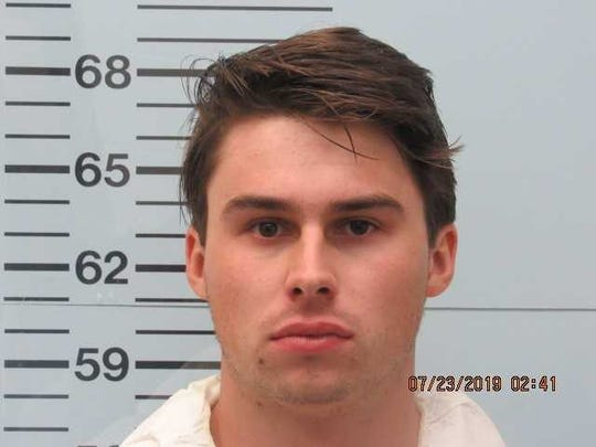 "Brandon Theesfeld, 22, was arrested on Monday in connection with the shooting death of Ole Miss student Alexandria ""Ally"" Kostial.  Kostial was found dead by Lafayette County authorities on July 20."