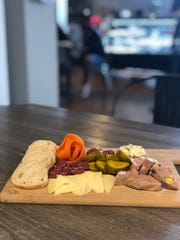 City Block Salumeria's charcuterie board feature's this artisan butcher's house-made sausages and cured meats.