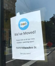 Brunch, the breakfast-lunch restaurant at Plankinton Avenue and Wells Street, will be moving to 714 N. Milwaukee St. It has been closed since June because of flood damage from the neighboring Milwaukee River.