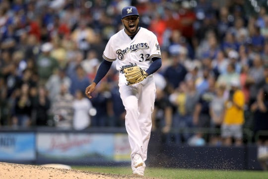 Jeremy Jeffress posted a 5.02 ERA over 48 appearances with only one save for the Brewers last season before being released Sept. 1.