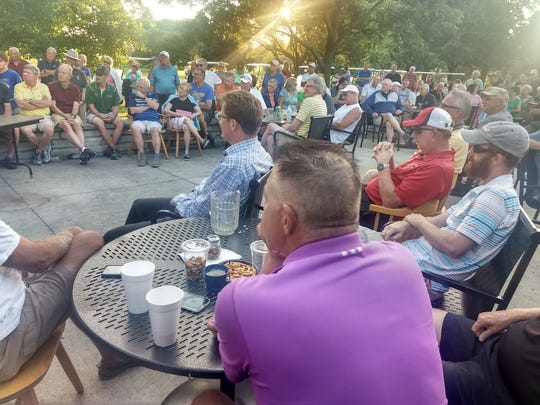 More than 100 golfers attended a meeting July 22 with the goal of saving Wanaki Golf Course. County officials announced last week the course would close after the 2019 season due to financial concerns.