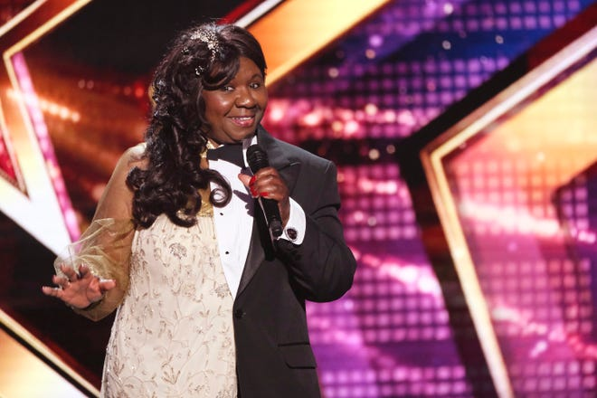 "Born-in-Milwaukee, gender-bending singer Adaline Bates faces the judges in the ""Judges Cuts"" round on ""America's Got Talent"" on NBC at 7 p.m. July 23."