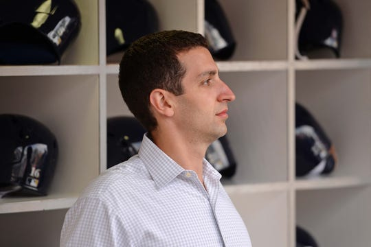 David Stearns said steps are being taken to assure safe work environments for everyone in the Brewers organization.