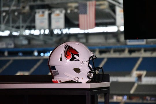 Ball State football opens its 2019 season against Indiana. The Cardinals and Hoosiers play Aug. 1 in Indianapolis.