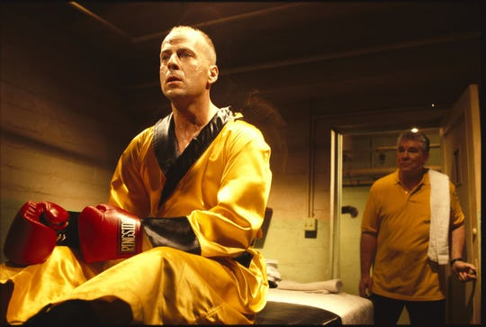 Bruce Willis and Sy Sher in 'Pulp Fiction'