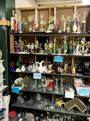 Turnip Green Creative Reuse Center is filled with donated supplies for artists and crafters.