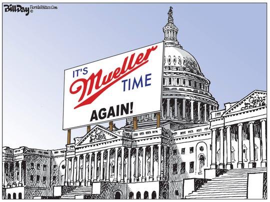 It's Mueller Time again in D.C.