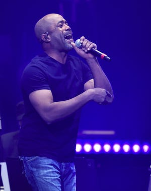 Darius Rucker performs during the Loretta Lynn: An All-Star Birthday Celebration Concert at Bridgestone Arena on Monday, April 1, 2019 in Nashville, Tenn.