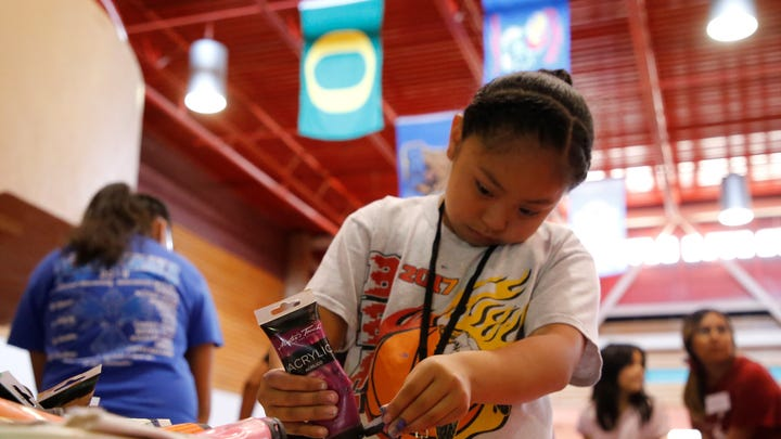 iMPACT Shiprock offers youth lessons in sports, visual arts