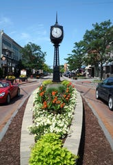 Downtown Northville in July, 2019.