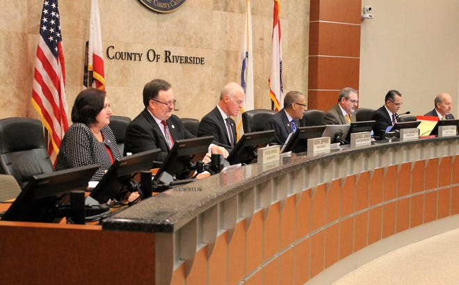 Riverside County Board of Supervisors July 23, 2019.