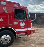 Two hikers were rescued after falling ill in Mecca on Aug. 10, 2019 by Cal Fire. A Cal Fire Riverside County firetruck is pictured in this undated file photo.