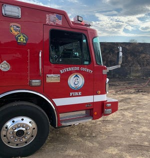 Cal Fire responded to the incident in the 13000 block of Quinta Way on Friday afternoon.