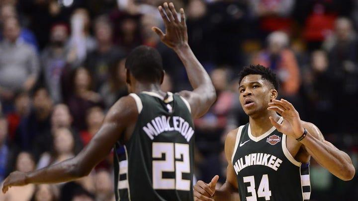 Top NBA duos: Milwaukee's Giannis Antetokounmpo and Khris Middleton lead the Next 5