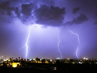 Lightning strike count is at an all-time low for Arizona