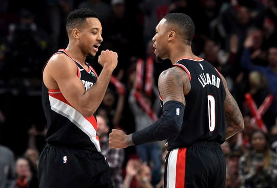 CJ McCollum and Damian Lillard can both close out games for Portland.