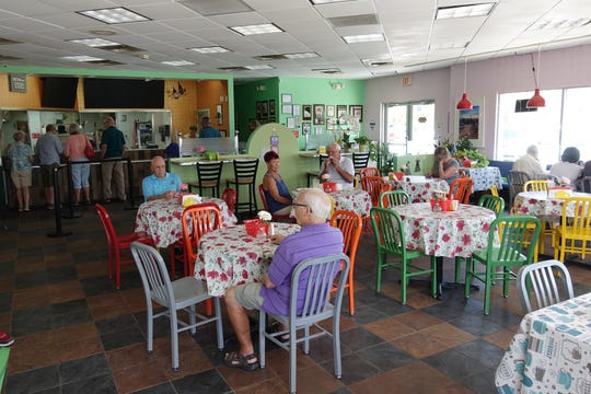 The interior of BeCe Kitchen in Sun Lakes.