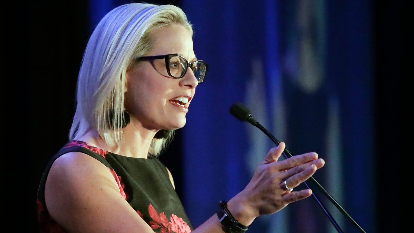 Arizona progressives seek to censure Democratic Sen. Kyrsten Sinema