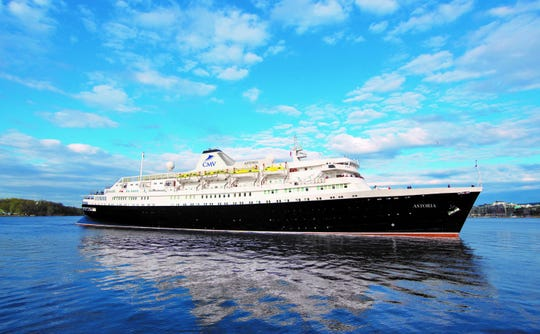 Cruise and Maritime Voyage's will offer a cruise of the Sea of Cortez leaving from Rocky Point on board the Astoria ship. The vessel holds 550 passengers.