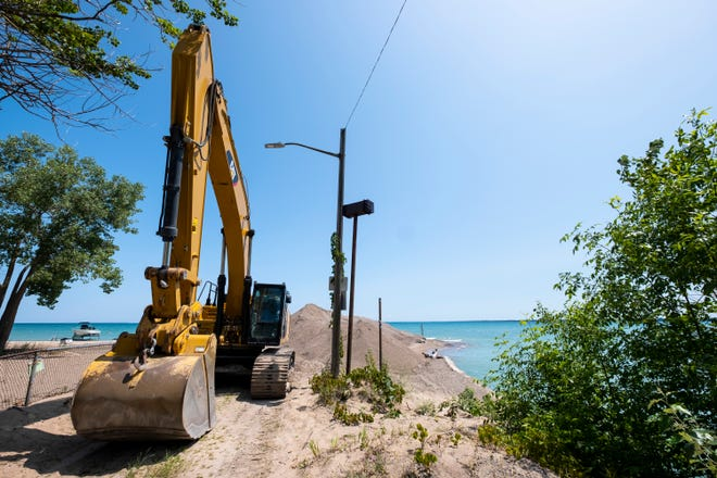 The city has begun work to dredge the Black River Canal in Port Huron. The work comes after boaters complained about the sand piled up near the entrance to Lake Huron.