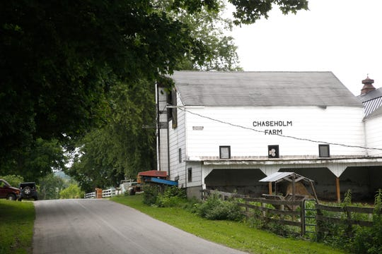 Chaseholm Farm in Pine Plains on July 12, 2019.