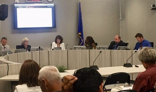 The Washoe County School Board meeting on July 23, 2019