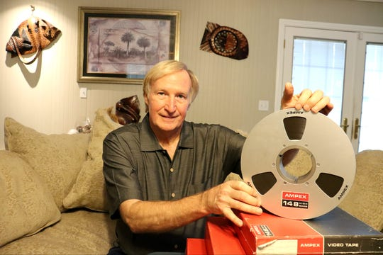 As a NASA intern in 1976, Gary George bid $217.77 at a government auction for three truckloads of film reels that happened to contain original video footage of man's first steps on the moon.