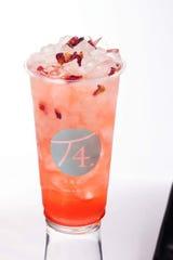 Elegant Rose Tea at T4 Tea House