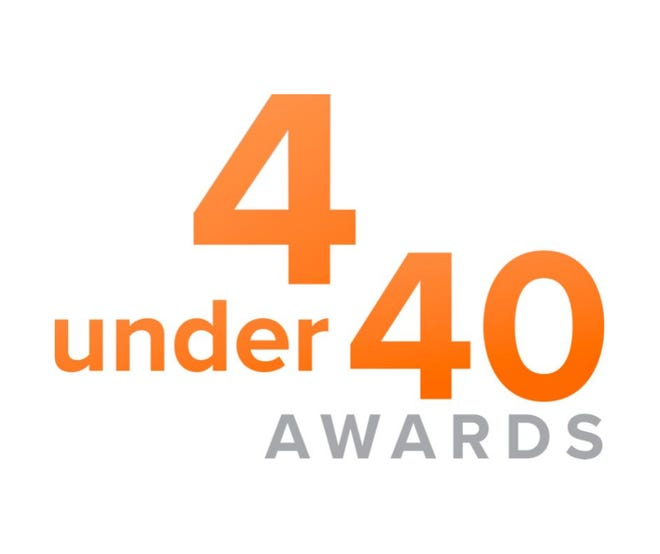 YPN's 4 under 40 Awards logo