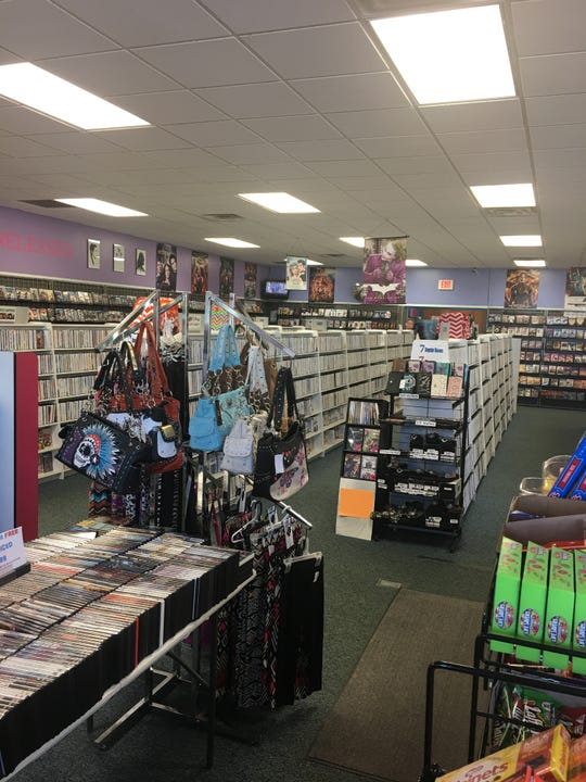 The inside of Movie Mania, a video store located in Pierre that is also the last video store in South Dakota.