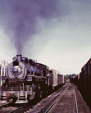 No. 9 VBR steam engine, 1963.