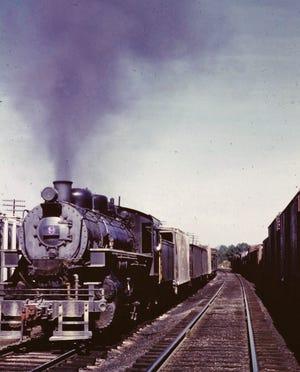 No. 9 VBR steam engine, 1963.