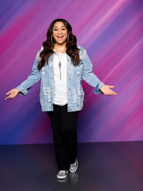 "Disney Channel's ""Raven's Home"" stars Raven Symone as Raven Baxter."