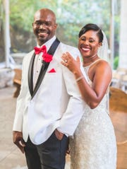 Bryan and Nikki Houston met at FAMU in 2005. The former defensive back at Alabama State and current tennis coach of the Rattlers now wear the same uniform as husband and wide.