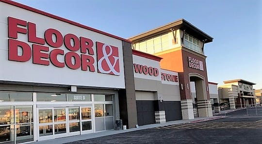 The Atlanta-based Floor & Decor chain has opened its first El Paso store in the Eastgate Shopping Center at Interstate 10 and McRae Boulevard.