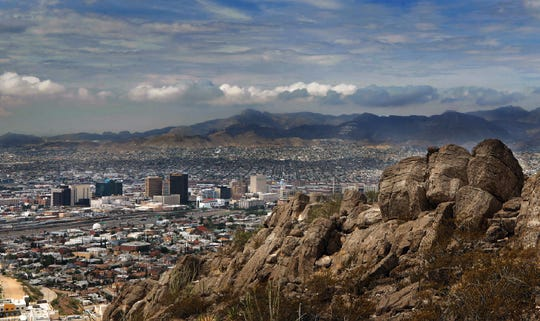 El Paso received a much-needed cool down Tuesday, July 23, 2019, after a brief rain hit El Paso after days of pounding heat.