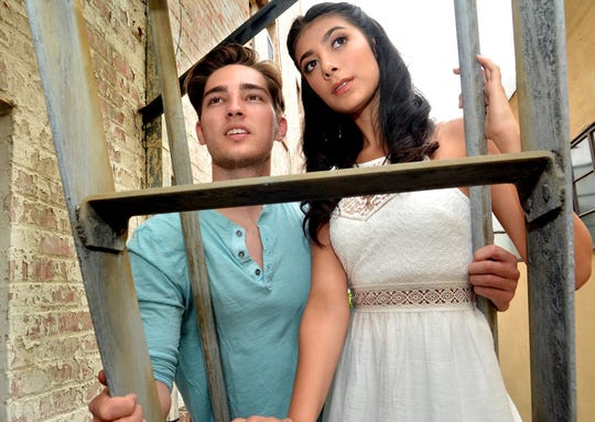 "Brandon Keith Rogers and Giselle Torres perform in 5-Star Theatricals' ""West Side Story"" July 26 to Aug. 4 at the Kavli Theatre at the Thousand Oaks Civic Arts Plaza."