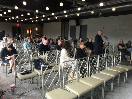 The Thruway Authority Toll Advisory Panel heard comments from residents, business leaders and politicians on July 18 at Time Hotel Nyack about the tolls on the Gov. Mario M. Cuomo Bridge traversing the Hudson River between Rockland and Westchester counties.