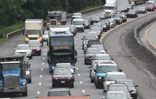 Single- and double-lane closures will be expected on I-684 beginning Monday until further notice.