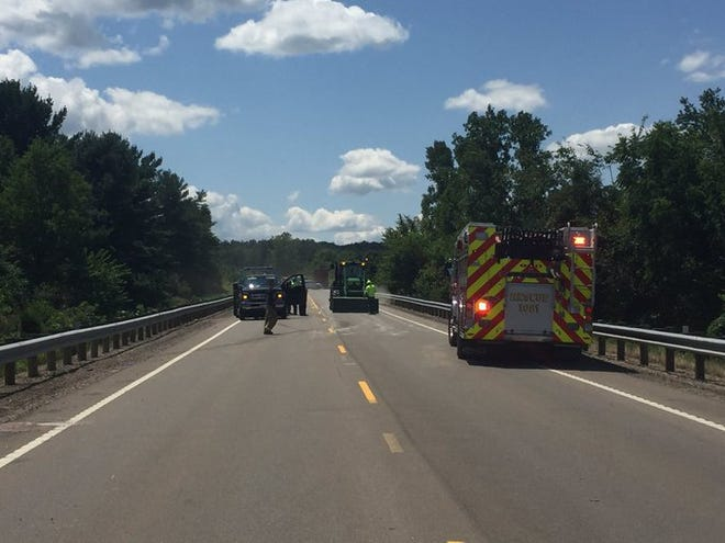 Rescue is on the scene of what was called in as a head-on collision on Ohio 93 north of Roseville.